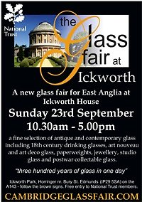 UK**The Glass Fair at Ickworth - Sunday 23rd September Flyer1forWEB