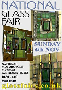 **UK - National Glass Fair - Sunday 4th November** FlyerforNational112018